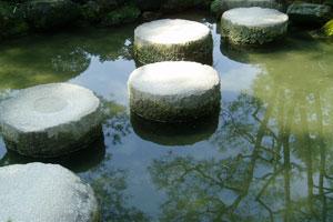 stenen-in-water